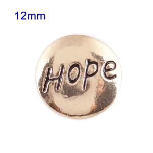 Broches chapados en oro de tamaño pequeño 12mm para joyas en trozos