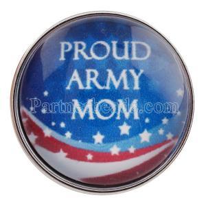 20MM оснастка гордой армейской мамы стекла C0192 армейской армии