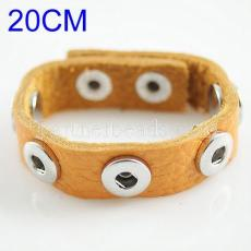 20CM soft imported Full-Grain real leather bracelets for Child
