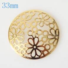 33 mm Alloy Coin fit Medaillon Schmuck Typ002