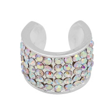 Colorful rhinestone fittings for silver-plated belt of ultrasonic stethoscope
