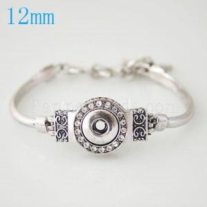 snaps metal one chunk bracelets fit snaps style