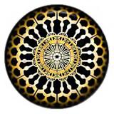 Дизайн 20MM Металлическая эмаль с росписью C5517