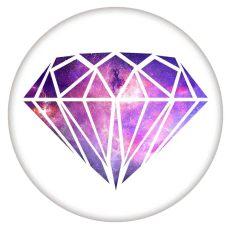 20MM C5774 en métal émaillé Painted Diamond émaillé s'enclenche les bijoux