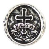 20MM faith snaps Antique Silver Plated KB6933 snaps jewelry