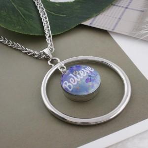 20MM croient que les boutons-pression en métal peint C5063 impriment des bijoux