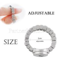Fit 12mm Snaps Rings fit snaps chunks Extensible size