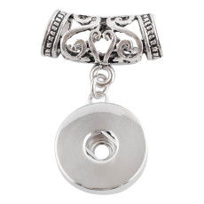Pendant of necklace or bracelet KC0351 fit snaps style 18mm snaps jewelry