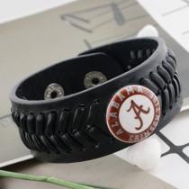 20MM équipe de football en métal peint émail peint C5328 impression s'enclenche bijoux