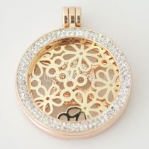 33 mm Alloy Coin fit Locket jewelry type002