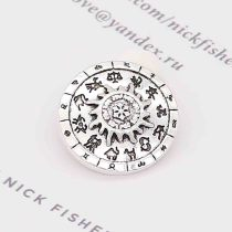 20MM sun snap Silver Plated KC6852 snaps jewelry