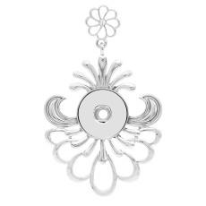 Pendentif de collier sans chaîne KC0459 ajustement s'enclenche style 18 / 20mm s'enclenche bijoux