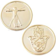33 mm Alliage Coin fit Médaillon bijoux type065