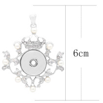 Pendant of necklace without chain KC0452 fit snaps style 18/20mm snaps jewelry