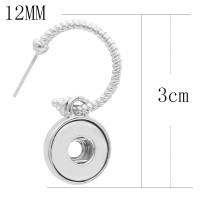 Snap Ohrring Fit 12MM Snaps Style Schmuck KS1256-S