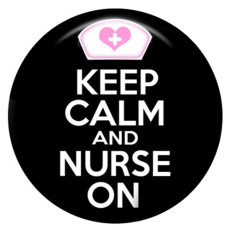 20MM nurse Painted enamel metal C5147 print snaps jewelry