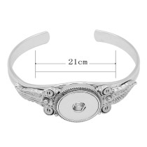 High Quality metal bracelet fit 18&20MM snaps chunks 1 buttons snaps Jewelry KC0871