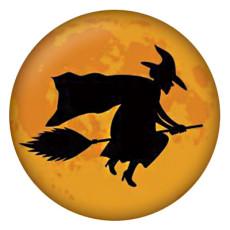 20MM Halloween métal peint émail peint C5461 s'encliquette bijoux