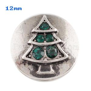 12mm Рождество Маленькие защелки для ювелирных изделий