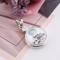20MM verre à priser Valentin Love C0018 mousqueton interchangeable bijoux