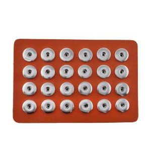 Отображение деталей 24 из искусственной кожи оранжевого цвета для кусков 18 и 20MM