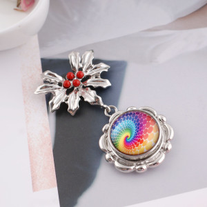 20MM snap colorful glass KB2503-AP interchangable snaps jewelry
