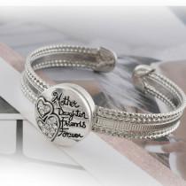 20MM mousqueton ruban plaqué avec strass blanc KC6511 s'encliquette bijoux