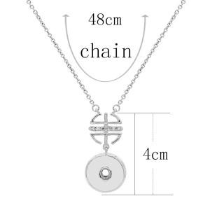 Collar de astilla colgante con cadena 48CM KC1094 broches de joyería