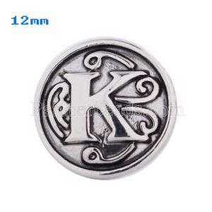 12mm K Broches antiguos Joyas chapadas en plata KS5013-S