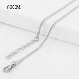 60CM high quality Stainless steel Snake Chain necklace