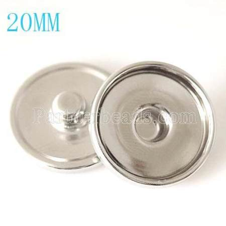 1000pcs/bag of 20MM Bottom of snaps chunks fit ST0013-18