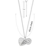 Ожерелье с цепочкой 45CM KC0997 подходит 18mm куски защелки ювелирные изделия