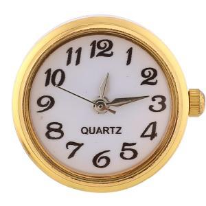 ajusta trozos de reloj de oro
