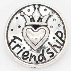 20MM snap amitié slack plaqué avec KC6723 snaps bijoux