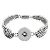Boutons 1 s'encliquetant Bracelet en métal