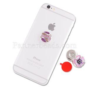 ボタンベースのフィット20mmスナップ財布、ハンドバッグ、携帯電話などに取り付け可能 シリコン接着剤は非常に強力で、跡を残さずに除去されます