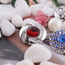 20MM snap Jan. birthstone deep red KC5071 interchangable snaps jewelry
