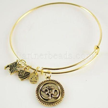 Om Charm Bangle-Creation • Oneness • Truth