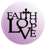 20MM faith Painted enamel metal C5125 print snaps jewelry