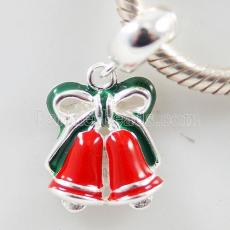 Partner sterling silver dangle Christmas beads