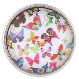 20MM Snap Glas Schmetterling KB2506-AI austauschbare Snaps Schmuck