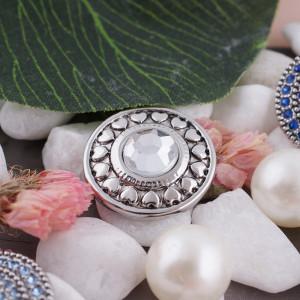20MM оснастка апрель. Белый камень KC5036 сменные защелки ювелирные изделия