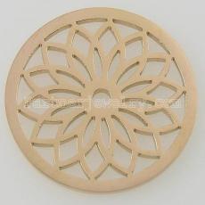Подвески из нержавеющей стали 33MM подходят для ювелирных украшений маленького лотоса