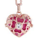 Collier Angel Caller fit 25MM La forme de l'amour exclut Le pendentif de la forme de l'amour AC3773R