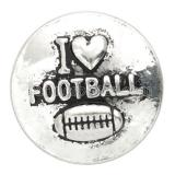 20MM football snap  KB6815 snaps jewelry