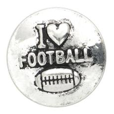 20MM football snap KB6815 snaps bijoux
