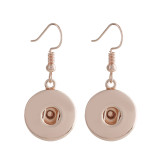 Snap Rose Gold Ohrring Fit 20MM Snaps Style Schmuck KC1035