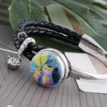 20MM chat en métal peint émaillé s'enclenche C5112 impression s'enclenche bijoux