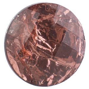 18MM Round snap Alliage résine brune KB2231 boutons pression interchangeables bijoux