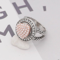 Love 12MM snap perle blanche Or Rose KS7046-S snaps interchangeables bijoux